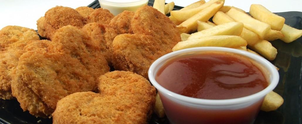 chicken nuggets