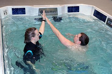 aquatic therapy, water therapy, allen tx, dallas tx