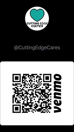 donate to cutting edge cares via venmo