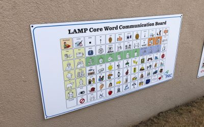 LAMP Core Word Communication Board for Special Needs Kids
